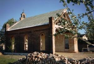 Kapelle Werben Umbau (1995)